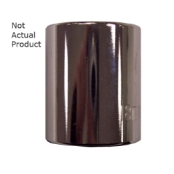 "K Tool International 3/8"" Drive 20mm 12 Point Shallow Chrome Socket KTI27520"
