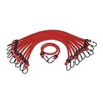 "K Tool International 13/32"" x 40""  10/pk Heavy Duty Bungee Cord KTI73833"