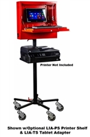 "Goliath Cart LLC L1A-AS Secure Series ""Laptop Locker""™ w/Stand"