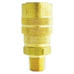 "Milton Industries 1/4"" NPT Male M-Style Coupler MIL716"