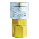 "Milton Industries 1/4"" NPT Female M-Style Coupler MILS755"