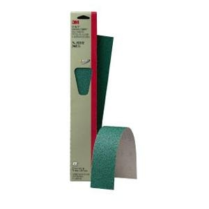 "3M™ 2-3/4"" x 16-1/2"" 5 Pack Stikit™ Green Corps™ Sheet MMM32232"