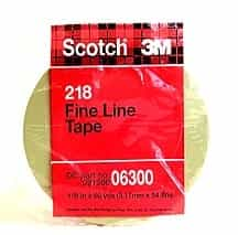 "3M 1/8"" x 60 yd. Scotch® Fine Line Tape MMM6300"