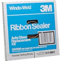 "3M™ 5/16"" x 15' Window-Weld™ Round Ribbon Sealer MMM8611"