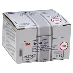 "3M™ 6"" Hookit™ Finishing FIlm Disc, 100 Discs per Box MMM969"