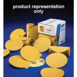 "Norton Refinished Products P220B 6"" Gold Reserve Disc Roll PSA NOR83820"
