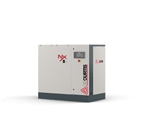 FS-Curtis NxB04 5HP Rotary Screw Air Compressor w/Fixed Speed Base Mounted Available with 230V 1PH, 230V 3PH, 460V 3PH,(100 PSI / 22 CFM, 125 PSI / 20 CFM , 150 PSI / 17 CFM, 175 PSI / 15 CFM)