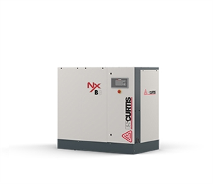 FS-Curtis NxB08 10HP Rotary Screw Air Compressor w/Fixed Speed Base Mounted with 230V & 460V (100 PSI / 45 CFM, 125 PSI / 42 CFM, 150 PSI / 37 CFM, 175 PSI / 33 CFM Available)