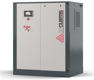 FS-Curtis NxB30 40HP Rotary Screw Air Compressor w/Fixed Speed Base Mounted with 230V & 460V (100 PSI / 196 CFM, 125 PSI / 173 CFM, 150 PSI / 163 CFM, 175 PSI / 149 CFM Available)