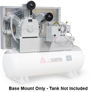 FS-Curtis OL5 Base Mount 5HP Oil-less Air Compressors (230V or 460V 3-Phase)