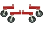 "AutoTwirler ORA-0309 Off Road Wheel Kit w/10"" Solid Rubber Casters"