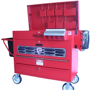 "Goliath Cart P1-A Smart Series ""Painter's Toolbox""™ Prep Cart"
