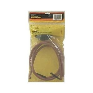 Plews 6 Ft. Rubber Siphon Hose with Bulb for Easy Start PLW75-847