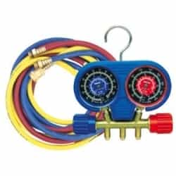 "Robinair High Pressure Manifold Set for R-410A with 60"" Enviro-Guard Ball Valve Hoses - ROB41670"