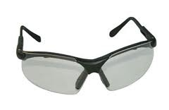 SAS Safety Black Frames/Clear Lens Sidewinders® Safety Glasses SAS541-0000