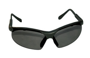 SAS Safety Black Frames/Shade Lens Sidewinders® Safety Glasses SAS541-0001