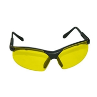 SAS Safety Black Frames/Yellow Lens Sidewinders® Safety Glasses SAS541-0002