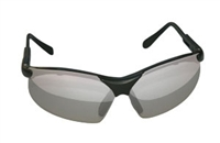 SAS Safety Black Frames/Silver Lens Sidewinders® Safety Glasses SAS541-0003