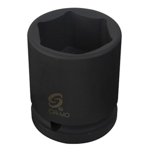 "Sunex Tools 3/8"" Drive 13mm 6 Point Standard Impact Socket SUN313M"