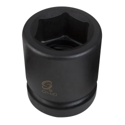 "Sunex 1"" Drive 4"" Standard 6 Point Impact Socket - SUN5128"