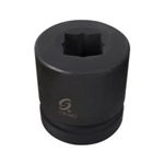 "Sunex Tools 1"" Drive 21mm Double Square Impact Socket SUN521MSS"