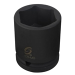 "Sunex Tools 1"" Drive 2"" Deep 6 Point Impact Socket SUN564D"