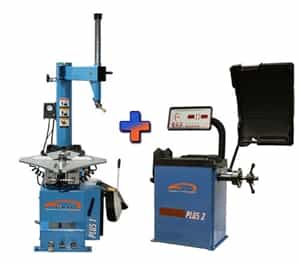 Talyn Plus 1 Tire Changer with Talyn Plus 2 Wheel Balancer Combo