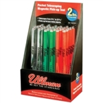 Ullman Devices Corp Multicolor Pocket Telescopic Magnetic Pick-up Tool Display ULL15XDISP