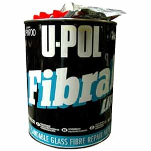 "U-POL Products Fibral ""Lite"" Premium  Fiberglass Filler, 1 Gallon UPL-UP0700"