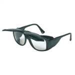 Uvex Horizon Flip Up Safety Glasses with Black Frames with Shade 5.0 - UVXS213