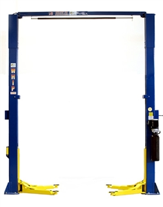Whip Industries WAS112E Asymmetric Two Post Car Lift 11,000 lb. Capacity