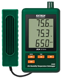 Hygro-Thermo-Anemometer-Light-Sound Meter