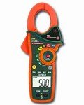 EX820 1,000A True RMS AC Clamp Meter/Digital Multimeter with IR Thermometer