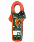 EX830 1,000A True RMS AC/DC Clamp Meter/DMM with IR Thermometer