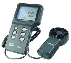 Reliability Direct AR836 Deluxe Digital Anemometer + Wind Temperature Meter