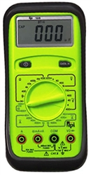 TPI-135 Manual Ranging Digital Multimeter with Capacitance, 40uA range
