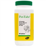 Pet-Tabs Vitamin Mineral Supplement, 60 Tablets