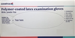 Latex Exam Gloves, Lightly Powdered, Large, 100/Box