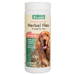 NaturVet Herbal Flea Powder For Dogs & Cats, 4 oz