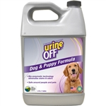 Urine-Off Odor & Stain Remover for Dogs, Veterinary Strength, Gallon