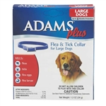 Adams Plus Flea & Tick Collar For Large Dogs With Necks Up to 25''