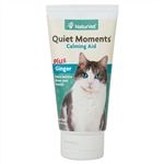 NaturVet Quiet Moments Calming Aid Gel Plus Ginger For Cats, 3 oz