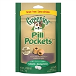 Greenies Pill Pockets Grain Free Formula For Dogs, 25 Pockets For Tablets