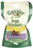 Greenies Pill Pockets Grain Free Formula For Dogs, 6 Bag Pack