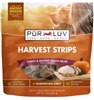 Pur Luv Turkey & Pumpkin Harvest Strips, 16 oz