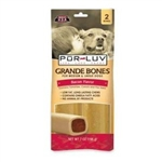 Pur Luv Grande Bones - Bacon, 2 Pack