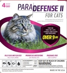 ParaDefense For Large Cats Over 9 lbs, 4 Doses