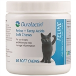 Duralactin Feline + Fatty Acids Soft Chews, 60 Capsules