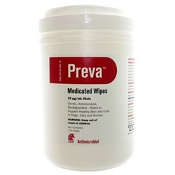 Preva Medicated Wipes