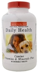 Resources Canine Daily Health Vitamins & Minerals Plus, 90 Chewable Tablets